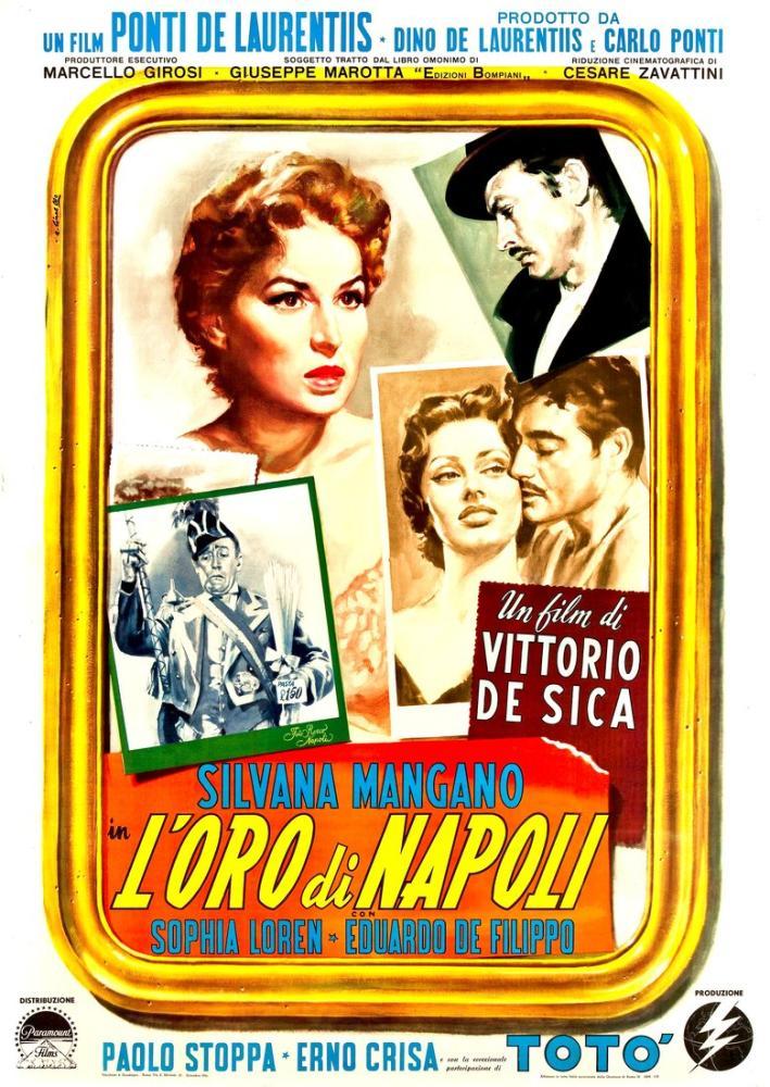 The Gold of Naples Movie Poster, Movie Poster, Poster Satış, all posters, kanvas tablo, canvas print sales