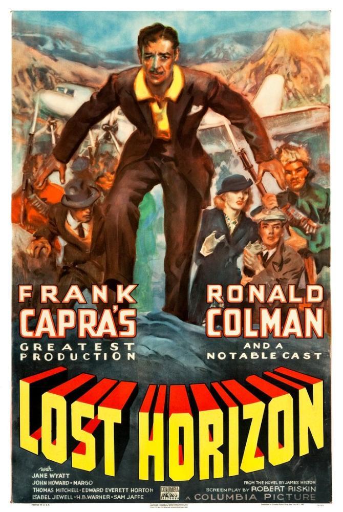 Lost Horizon Movie Poster, Movie Poster, Poster Satış, all posters, kanvas tablo, canvas print sales