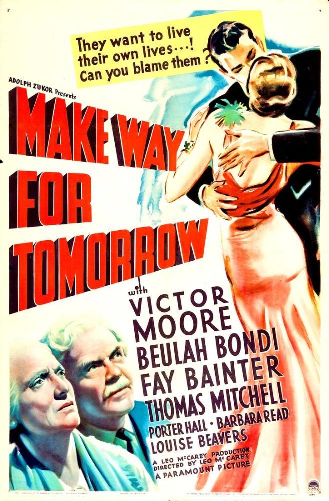 Make Way for Tomorrow Film Posteri, Film Posteri, Poster Satış, all posters, kanvas tablo, canvas print sales
