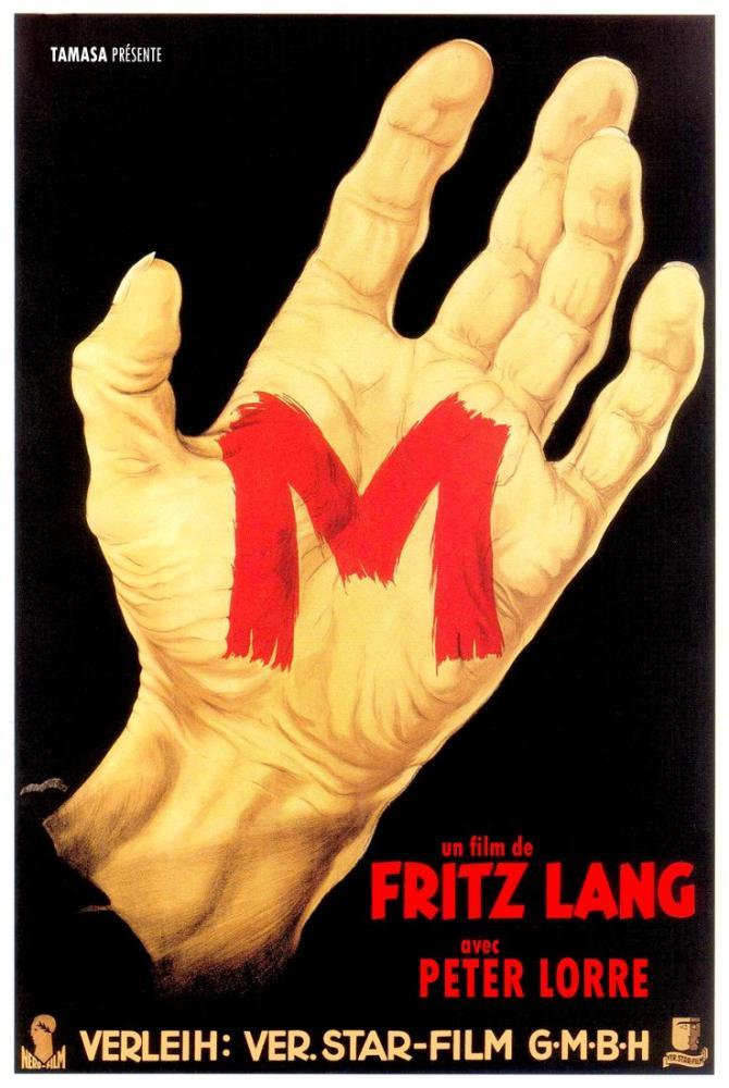 M Eine Stadt sucht einen Mörder Movie Poster, Movie Poster, Poster Satış, all posters, kanvas tablo, canvas print sales