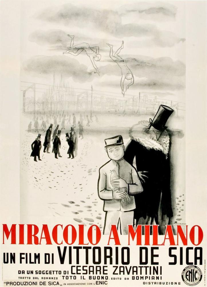 Miracolo a Milano 2 Movie Poster, Movie Poster, Poster Satış, all posters, kanvas tablo, canvas print sales