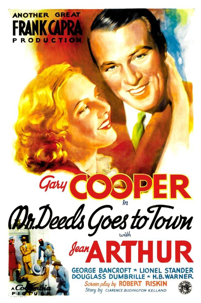 Mr. Deeds Goes to Town Movie Poster, Movie Poster, Poster Satış, all posters, kanvas tablo, canvas print sales