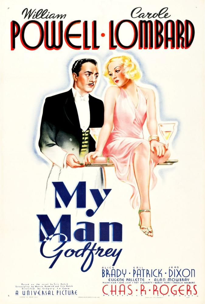 My Man Godfrey Movie Poster, Movie Poster, Poster Satış, all posters, kanvas tablo, canvas print sales