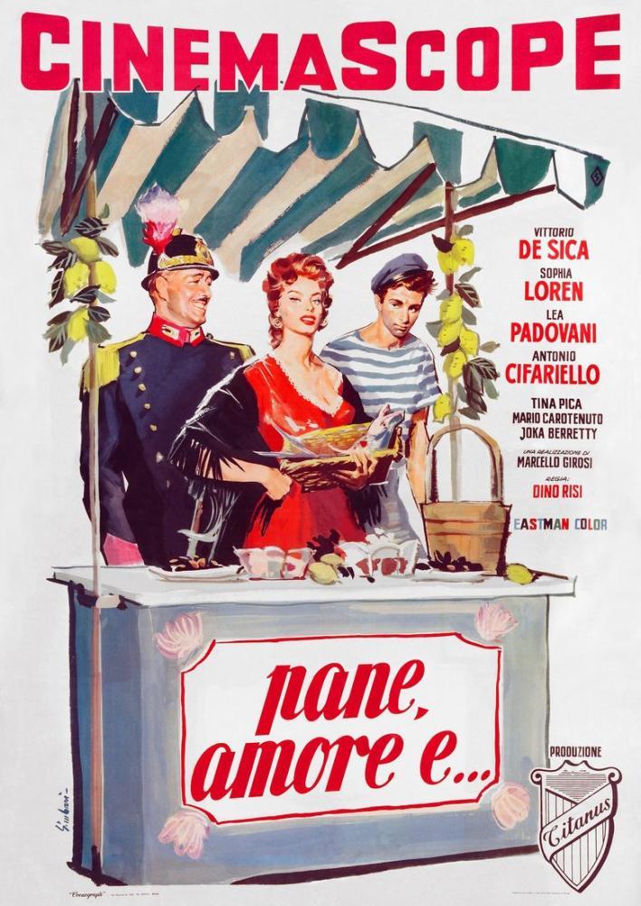 Pane, amore e... Film Posteri, Film Posteri, Poster Satış, all posters, kanvas tablo, canvas print sales