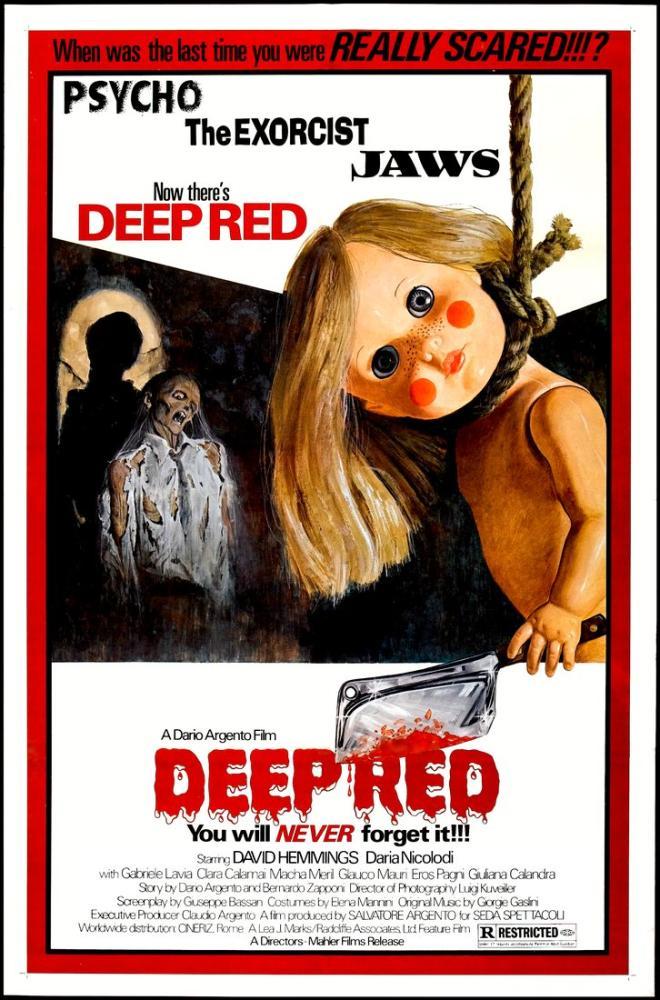 Deep Red 2 Movie Poster, Movie Poster, Poster Satış, all posters, kanvas tablo, canvas print sales