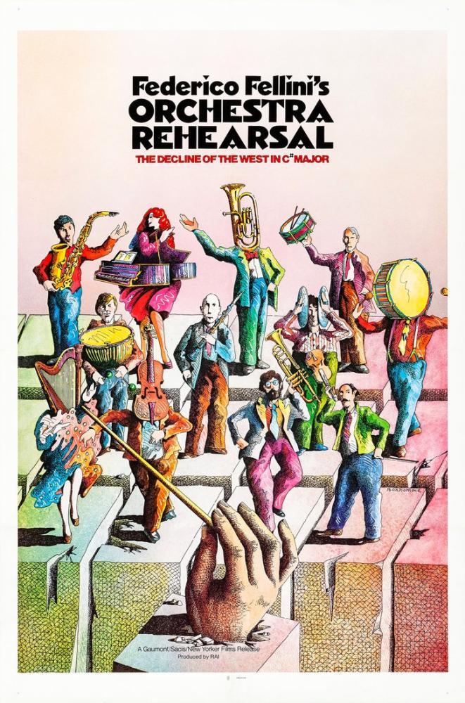 Prova d orchestra Movie Poster, Movie Poster, Poster Satış, all posters, kanvas tablo, canvas print sales