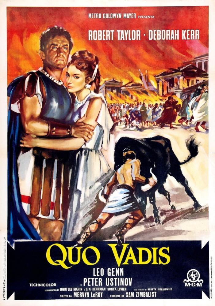 Quo Vadis Film Posteri, Film Posteri, Poster Satış, all posters, kanvas tablo, canvas print sales