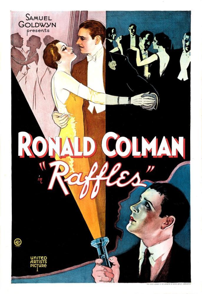 Raffles Movie Poster, Movie Poster, Poster Satış, all posters, kanvas tablo, canvas print sales