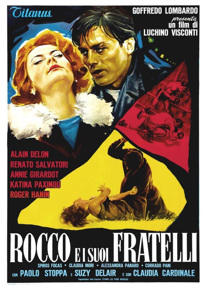Rocco ve Kardeşleri Film Posteri, Film Posteri, Poster Satış, all posters, kanvas tablo, canvas print sales
