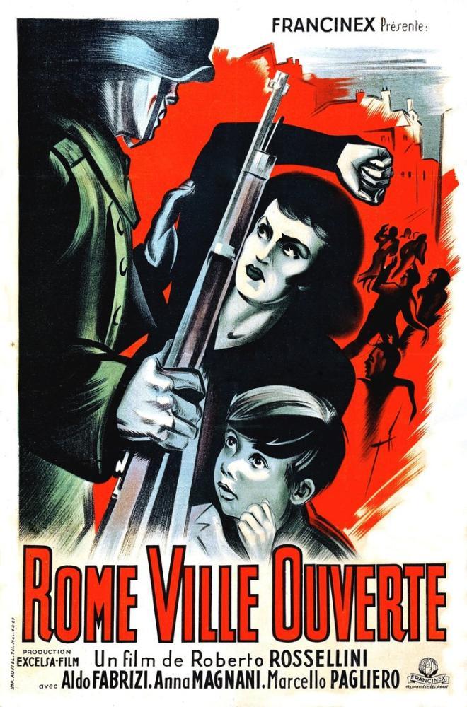 Roma, Açık Şehir 3 Film Posteri, Film Posteri, Poster Satış, all posters, kanvas tablo, canvas print sales