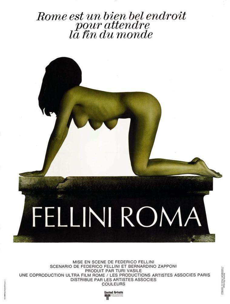 Fellini Roma Film Posteri, Film Posteri, Poster Satış, all posters, kanvas tablo, canvas print sales