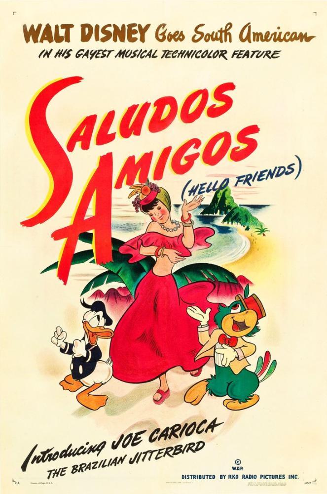 Saludos Amigos Movie Poster, Movie Poster, Poster Satış, all posters, kanvas tablo, canvas print sales