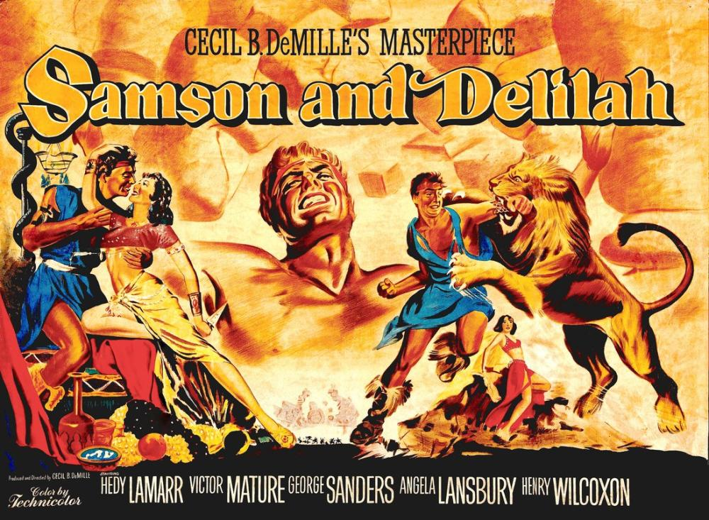 Samson and Delilah Movie Poster, Movie Poster, Poster Satış, all posters, kanvas tablo, canvas print sales