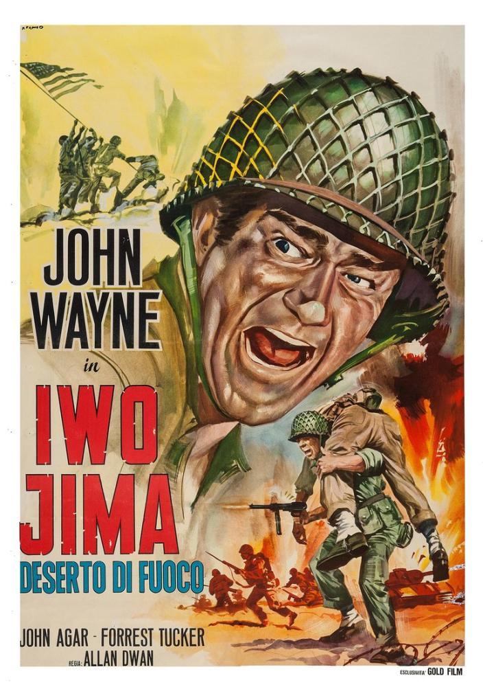 Sands of Iwo Jima Movie Poster, Movie Poster, Poster Satış, all posters, kanvas tablo, canvas print sales