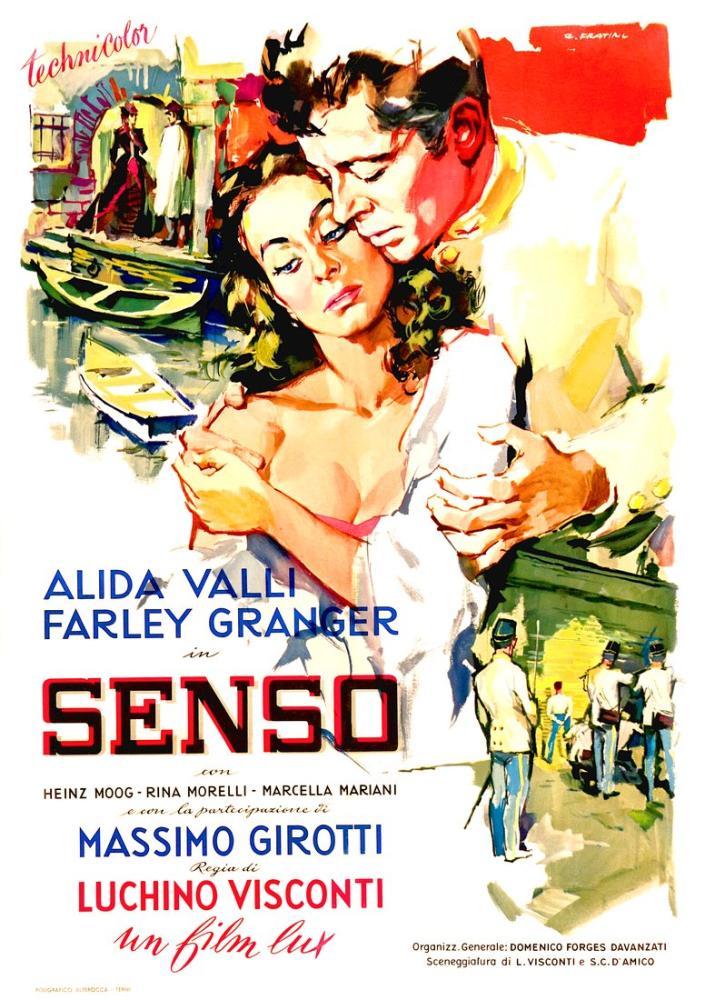 Senso Movie Poster, Movie Poster, Poster Satış, all posters, kanvas tablo, canvas print sales