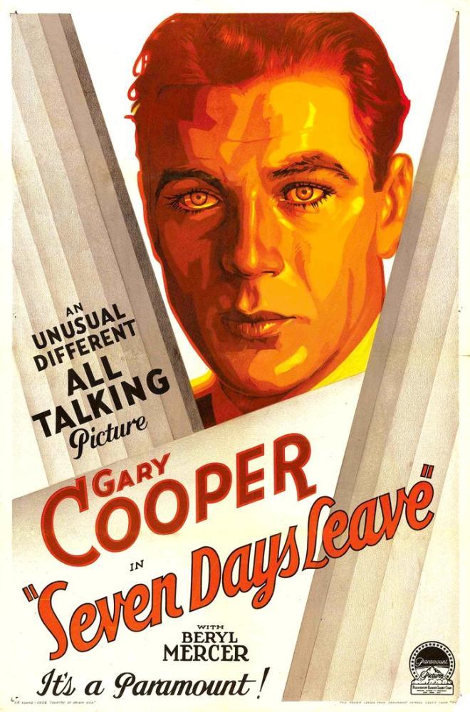 Seven Days  Leave Movie Poster, Movie Poster, Poster Satış, all posters, kanvas tablo, canvas print sales