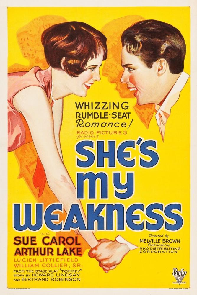 She s My Weakness Film Posteri, Film Posteri, Poster Satış, all posters, kanvas tablo, canvas print sales