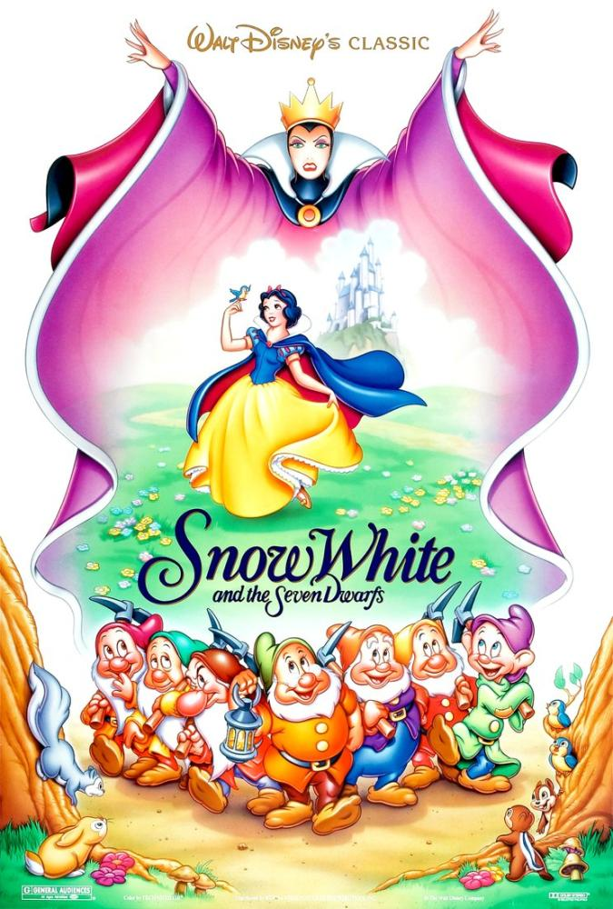 Snow White and the Seven Dwarfs Movie Poster, Movie Poster, Poster Satış, all posters, kanvas tablo, canvas print sales