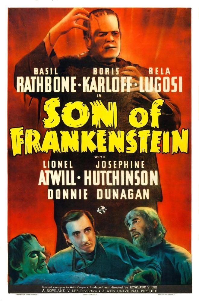 Frankenstein ın Oğlu Film Posteri, Film Posteri, Poster Satış, all posters, kanvas tablo, canvas print sales