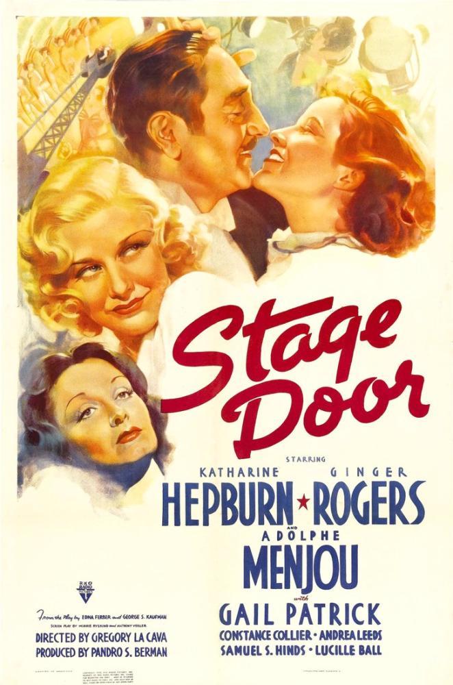 Stage Door Film Posteri, Film Posteri, Poster Satış, all posters, kanvas tablo, canvas print sales