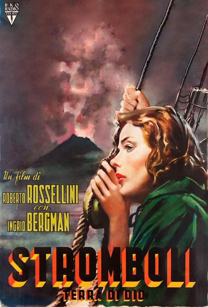 Stromboli Movie Poster, Movie Poster, Poster Satış, all posters, kanvas tablo, canvas print sales