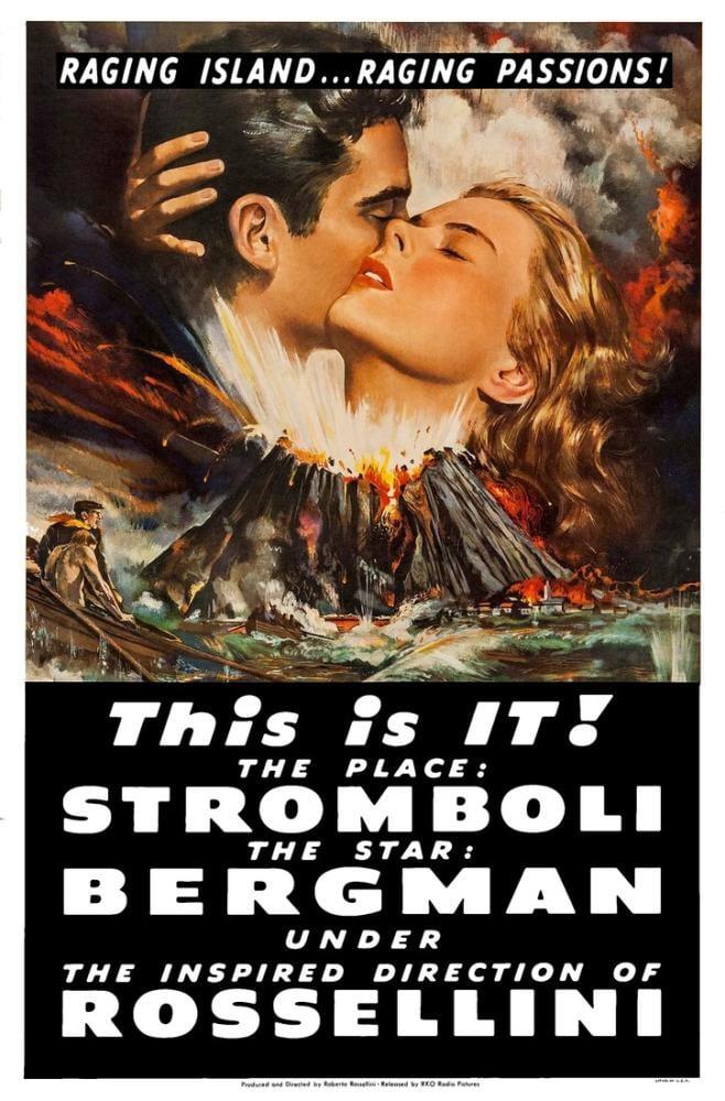 Stromboli 4 Film Posteri, Film Posteri, Poster Satış, all posters, kanvas tablo, canvas print sales