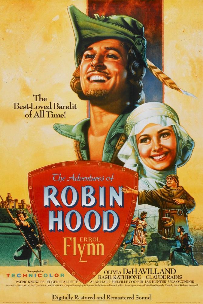 The Adventures of Robin Hood Movie Poster, Movie Poster, Poster Satış, all posters, kanvas tablo, canvas print sales
