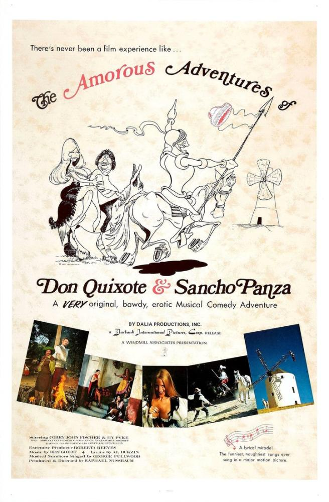 The Amorous Adventures of Don Quixote and Sancho Panza Movie Poster, Movie Poster, Poster Satış, all posters, kanvas tablo, canvas print sales