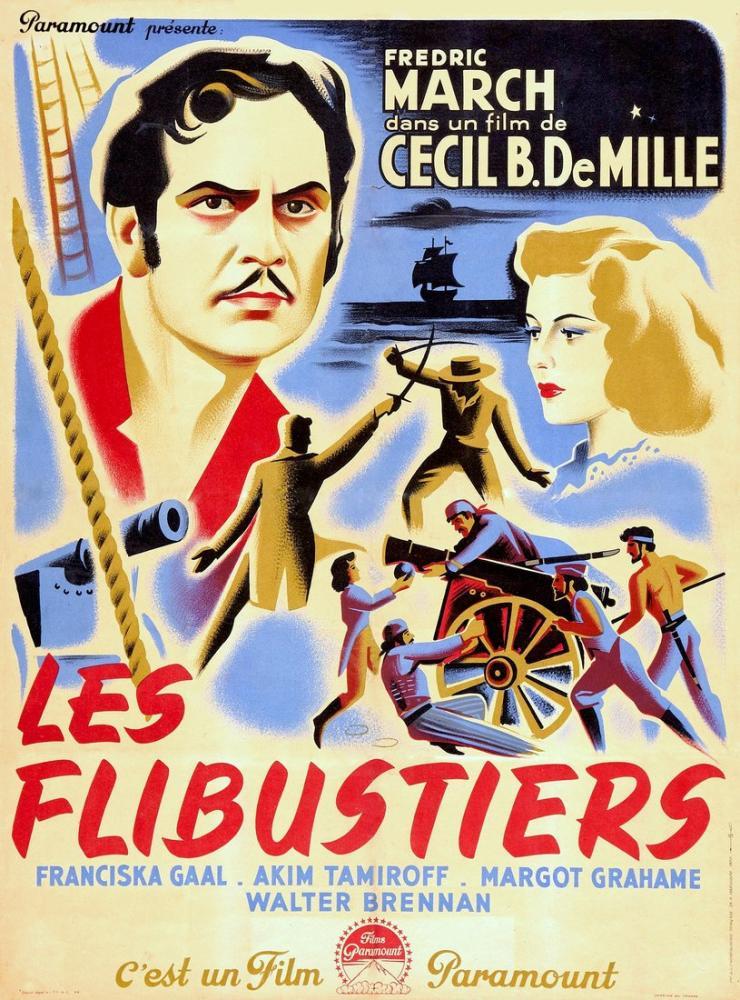 The Buccaneer Film Posteri, Film Posteri, Poster Satış, all posters, kanvas tablo, canvas print sales
