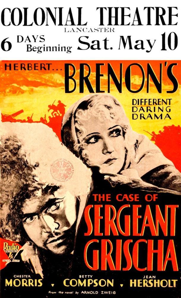 The Case of Sergeant Grischa Film Posteri, Film Posteri, Poster Satış, all posters, kanvas tablo, canvas print sales