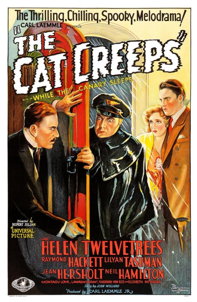 The Cat Creeps Movie Poster, Movie Poster, Poster Satış, all posters, kanvas tablo, canvas print sales