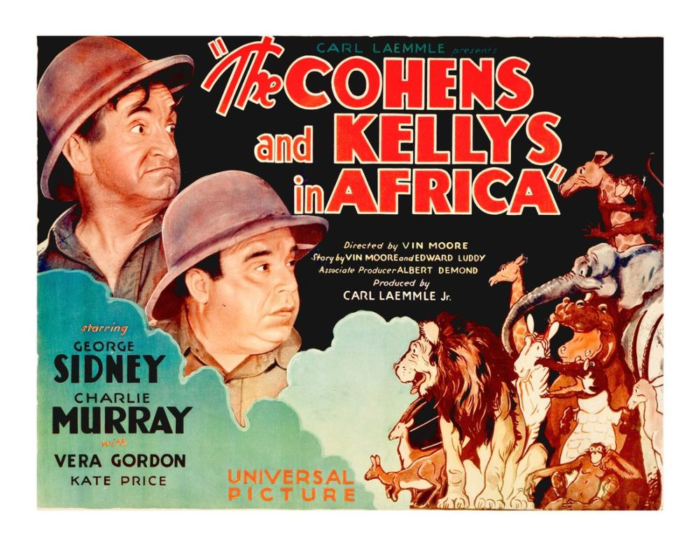 The Cohens and the Kellys in Africa Film Posteri, Film Posteri, Poster Satış, all posters, kanvas tablo, canvas print sales