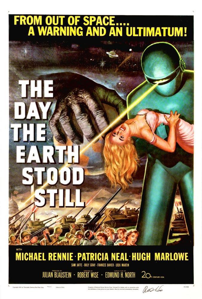 Dünyanın Durduğu Gün Film Posteri, Film Posteri, Poster Satış, all posters, kanvas tablo, canvas print sales