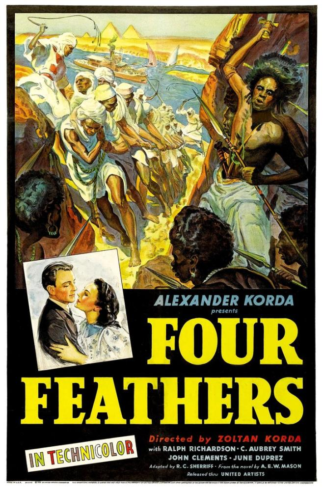 The Four Feathers Movie Poster, Movie Poster, Poster Satış, all posters, kanvas tablo, canvas print sales