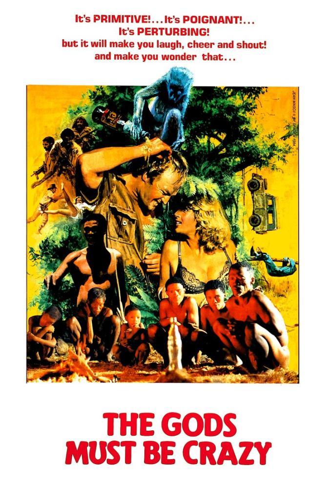 The Gods Must Be Crazy Movie Poster, Movie Poster, Poster Satış, all posters, kanvas tablo, canvas print sales