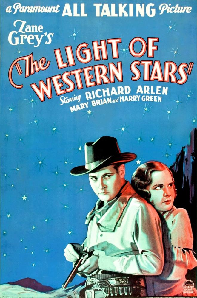 The Light of Western Stars Movie Poster, Movie Poster, Poster Satış, all posters, kanvas tablo, canvas print sales