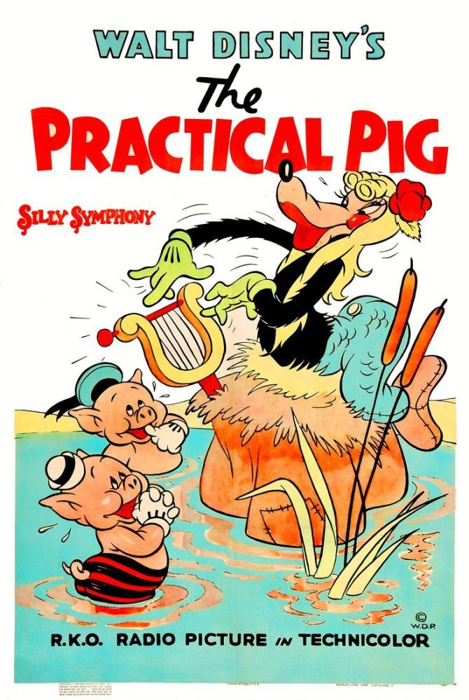 The Practical Pig Movie Poster, Movie Poster, Poster Satış, all posters, kanvas tablo, canvas print sales