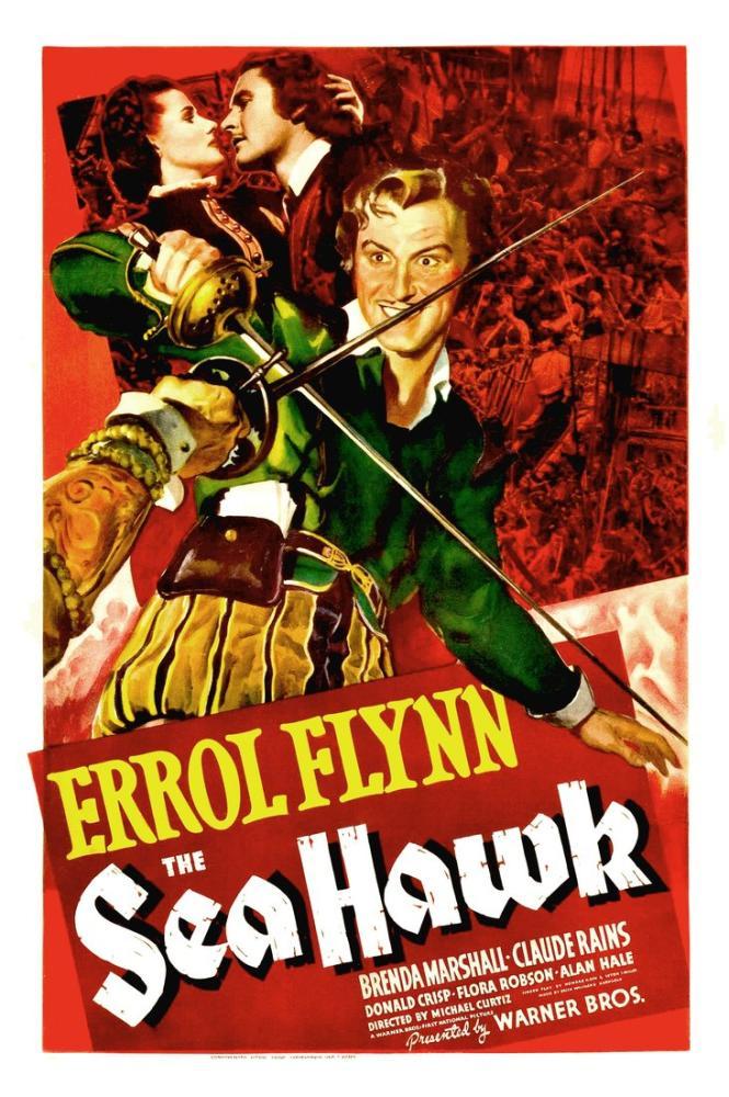 The Sea Hawk Movie Poster, Movie Poster, Poster Satış, all posters, kanvas tablo, canvas print sales