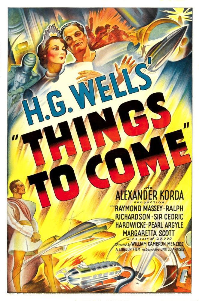 Things to Come Movie Poster, Movie Poster, Poster Satış, all posters, kanvas tablo, canvas print sales
