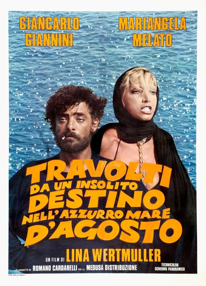 Travolti da un insolito destino nell azzurro mare d agosto Movie Poster, Movie Poster, Poster Satış, all posters, kanvas tablo, canvas print sales