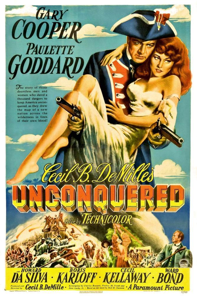 Unconquered Movie Poster, Movie Poster, Poster Satış, all posters, kanvas tablo, canvas print sales