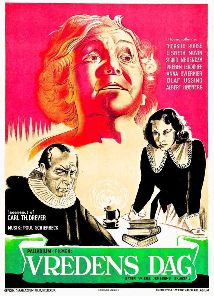 Day of Wrath Film Posteri, Film Posteri, Poster Satış, all posters, kanvas tablo, canvas print sales
