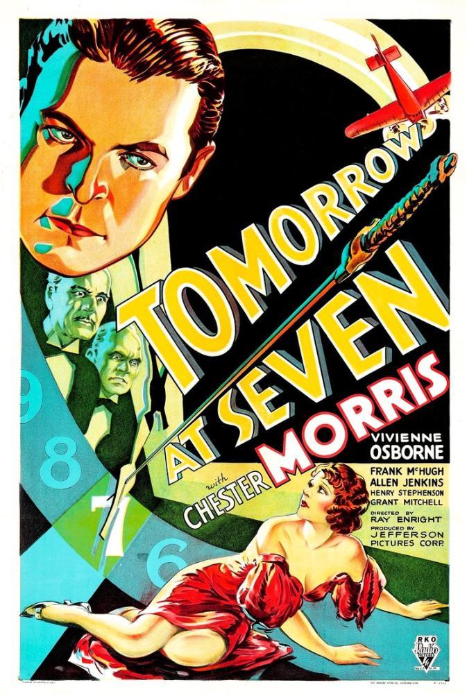 Tomorrow at Seven Movie Poster, Movie Poster, Poster Satış, all posters, kanvas tablo, canvas print sales