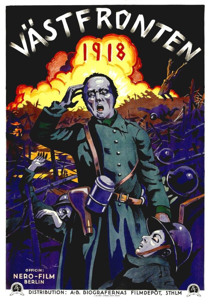 Westfront 1918 Movie Poster, Movie Poster, Poster Satış, all posters, kanvas tablo, canvas print sales