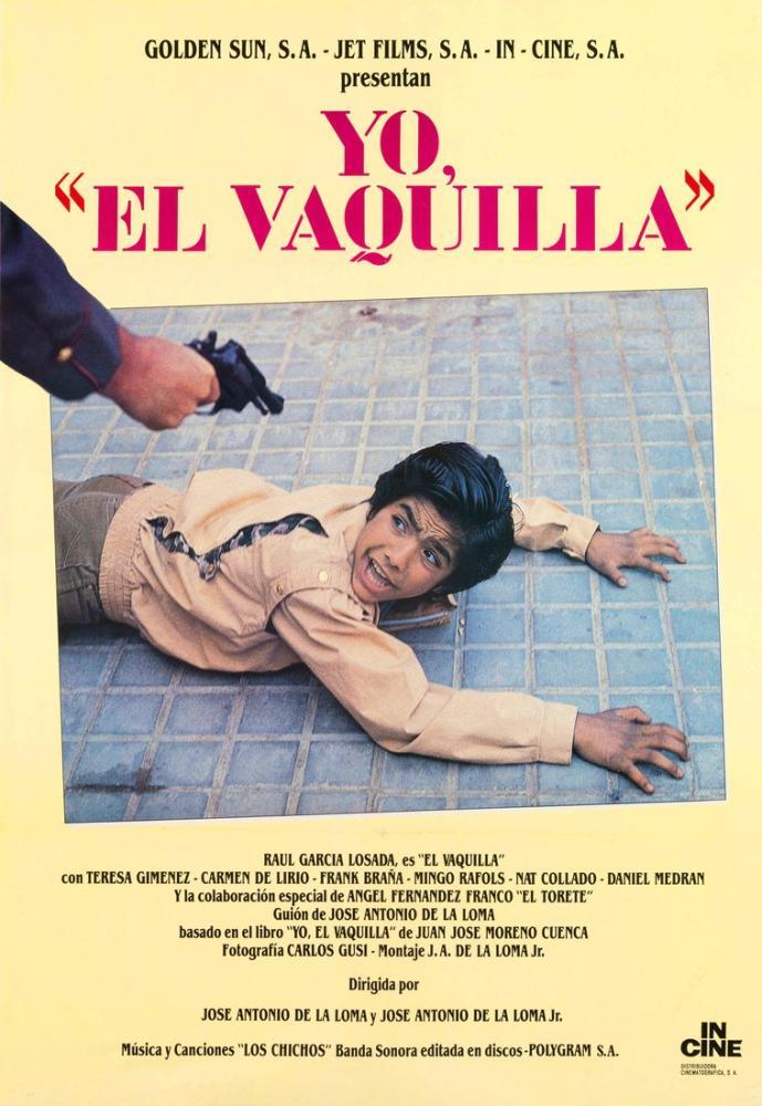 Yo,  El Vaquilla  Film Posteri, Film Posteri, Poster Satış, all posters, kanvas tablo, canvas print sales