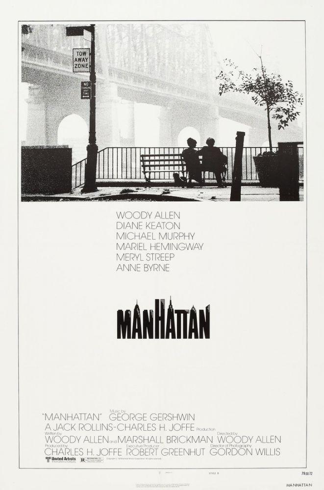 Manhattan Movie Poster 2, Movie Poster, Poster Satış, all posters, kanvas tablo, canvas print sales