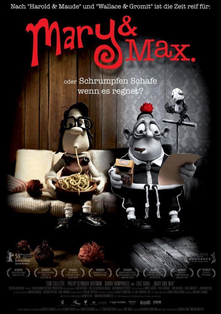Mary and Max  Movie Poster, Movie Poster, Poster Satış, all posters, kanvas tablo, canvas print sales