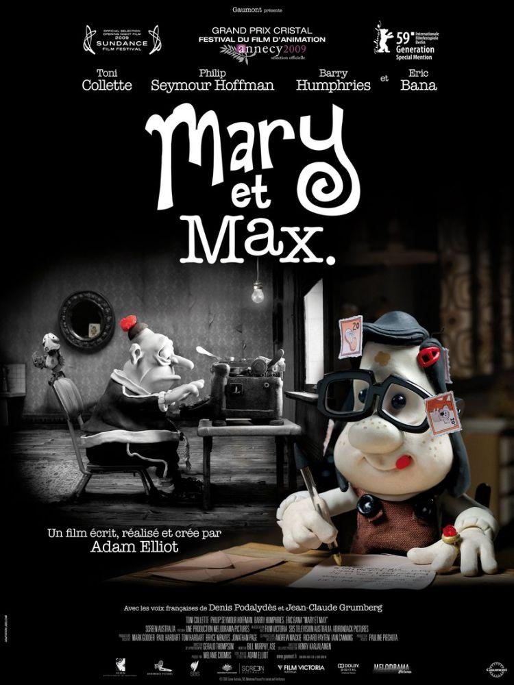 Mary ve Max Film Posteri 2, Film Posteri, Poster Satış, all posters, kanvas tablo, canvas print sales