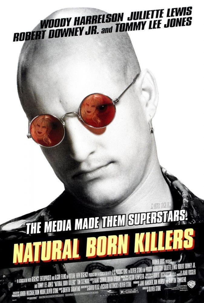 Natural Born Killers Movie Poster, Movie Poster, Poster Satış, all posters, kanvas tablo, canvas print sales