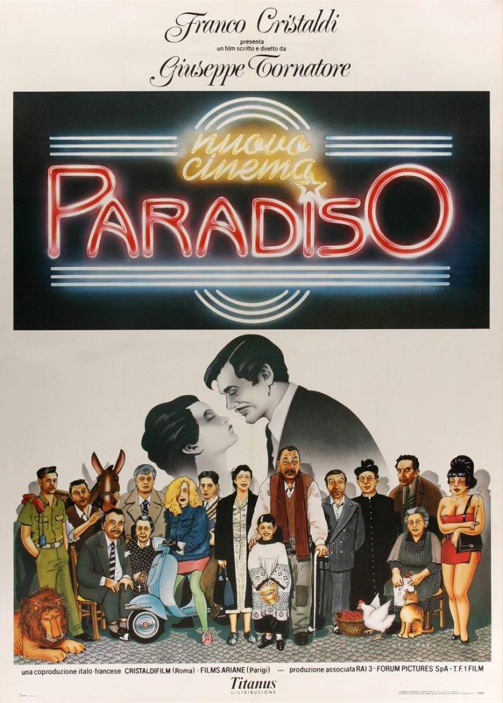 Cinema Paradiso Movie Poster, Movie Poster, Poster Satış, all posters, kanvas tablo, canvas print sales